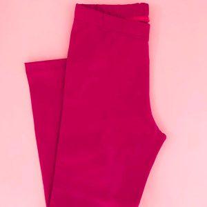 legging infantil em cores variadas lisa magenta augustina